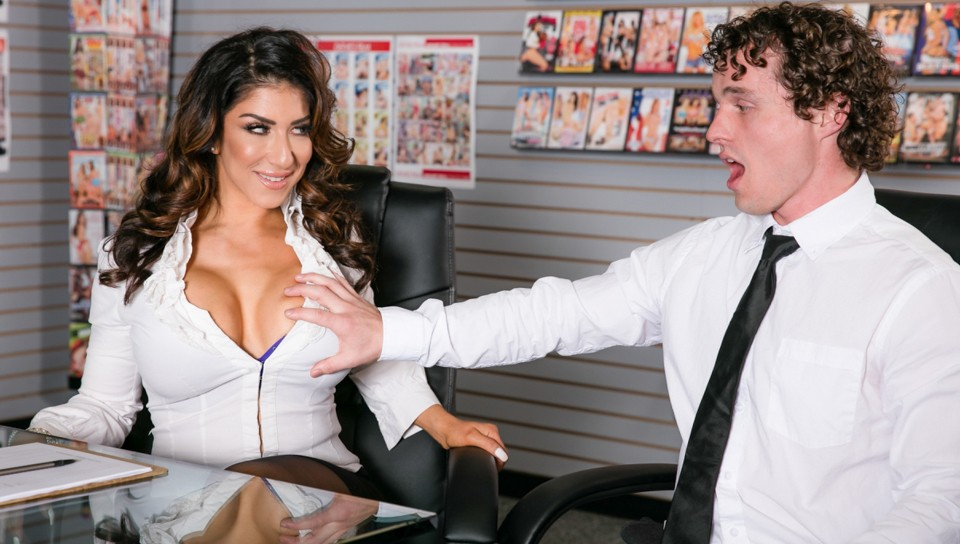 Raven Hart & Robby Echo in Big Tit Office Chicks #02 – DevilsFilm
